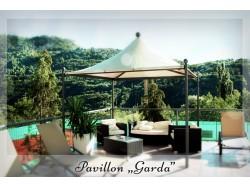 "Massiver Pavillon ""GARDA"""