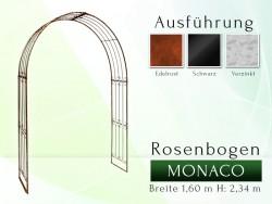 Rosenbogen Metall Pergola Gartenbogen Rosensäule MONACO