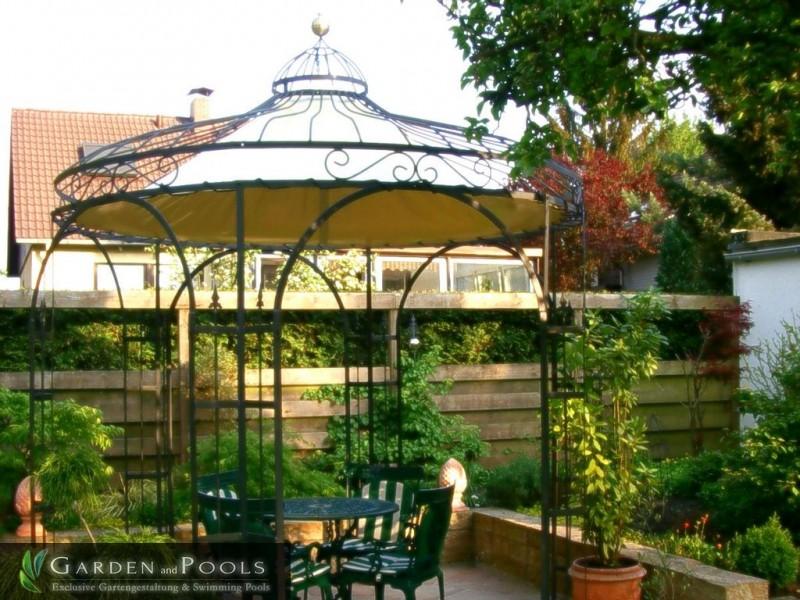pavillon holland garden and pools. Black Bedroom Furniture Sets. Home Design Ideas