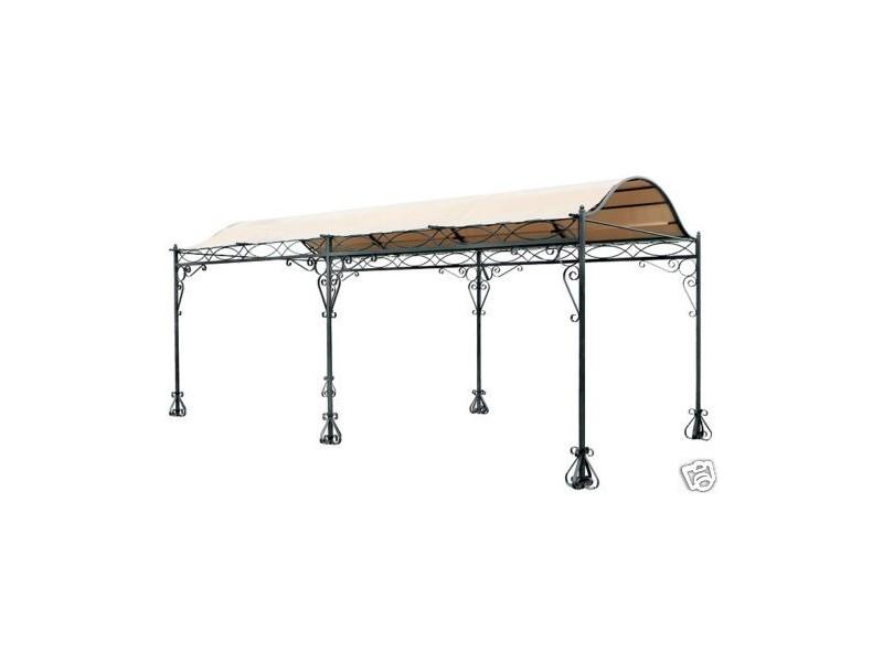 massiver carport f r pkw garden and pools. Black Bedroom Furniture Sets. Home Design Ideas