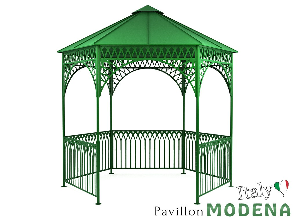 pavillon metall gartenlaube gazebo modena ausgefallen. Black Bedroom Furniture Sets. Home Design Ideas