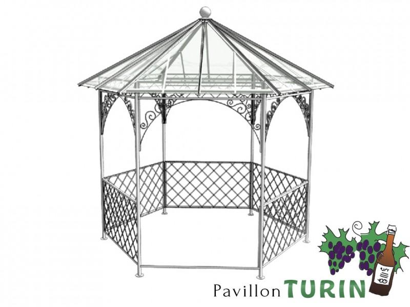 pavillon metall gartenlaube gazebo turin ausgefallen sch ner mode. Black Bedroom Furniture Sets. Home Design Ideas