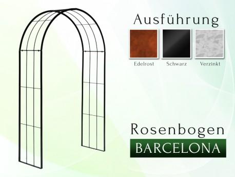 Rosenbogen Pergola Metallrosenbogen Gartenbogen Rosensäule Barcelona