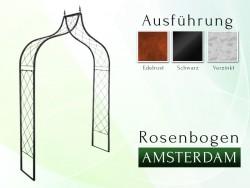 Rosenbogen Pergola Metallrosenbogen Gartenbogen Rosensäule AMSTERDAM