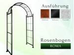 Rosenbogen Roma Pergola Metallrosenbogen Gartenbogen Rosensäule