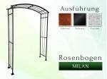 Rosenbogen Milan Pergola Metallrosenbogen Gartenbogen Rosensäulen
