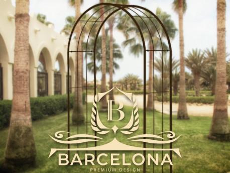 Rosenbogen Barcelona Pergola Metallrosenbogen Gartenbogen Rosensäule