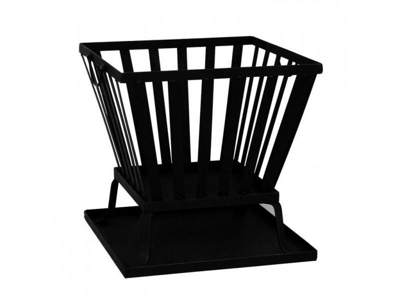 feuerkorb eckig backburner grill nachr sten. Black Bedroom Furniture Sets. Home Design Ideas