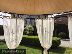 Stoff Vorhänge, Seitenteile für Pavillons