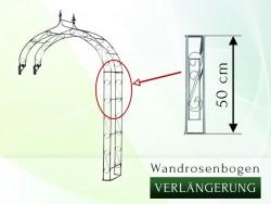 Wandrosenbogen Verlängerung 50 cm