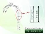 Wandrosenbogen Holland Verlängerung 50 cm