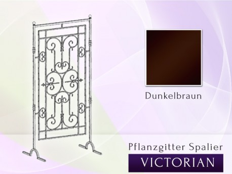 Altbewährte Pflanzgitter / Spalier  / Rankgitter Victorian - Breite 0,9 m