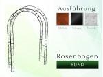 Rosenbogen Pergola Metallrosenbogen Gartenbogen Rosensäule RUND 1,60 m