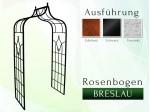 Rosenbogen Pergola Metallrosenbogen Gartenbogen Rosensäule Breslau