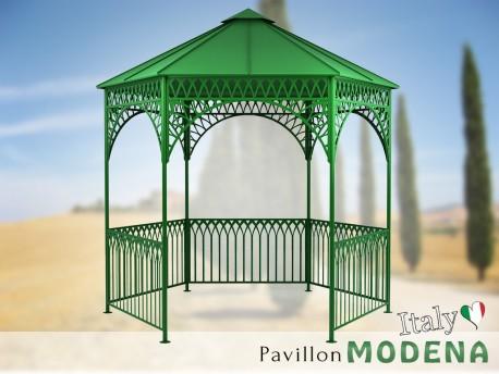 Pavillon Metall Gartenlaube Gazebo MODENA