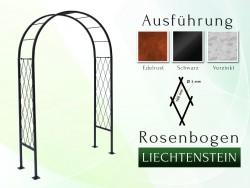 Rosenbogen Pergola Metallrosenbogen Gartenbogen Rosensäule Liechtenstein