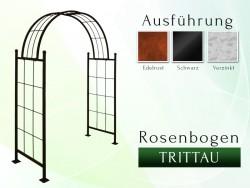 Rosenbogen Pergola Metallrosenbogen Gartenbogen Rosensäule Trittau