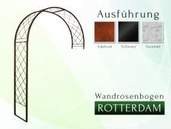 Wandrosenbogen Rosenbogen Pergola Metallrosenbogen Gartenbogen Rosensäule ROTTERDAM