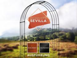 Rosenbogen Sevilla Pergola Metallrosenbogen Gartenbogen Rosensäule