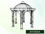 "Massiver Pavillon ""ATHENA"""