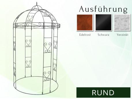 "Pavillon Gartenlaube ""RUND"""