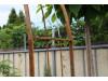 Rosenbogen Barcelona Eisen Massiv Rosenbogen für deinen Garten, erhältlich in drei Varianten: Rost, Verzinkt oder Schwarz