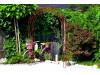 Rosenbogen HOLLAND Lilie Spitze Eisen Massiv Rosenbogen für deinen Garten, erhältlich in drei Varianten: Rost, Verzinkt ode...