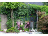 Rosenbogen Sevilla Eisen Massiv Rosenbogen für deinen Garten, erhältlich in drei Varianten: Rost, Verzinkt oder Schwarz