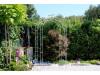 Rosenbogen VENEZIA mit Spitze 1,20 m Eisen Massiv Rosenbogen für deinen Garten, erhältlich in drei Varianten: Rost, Verzink...