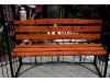 Rosenbogen AMORE BANK RUND mit Holzbank Eisen Massiv Rosenbogen für deinen Garten, erhältlich in drei Varianten: Rost, Verz...