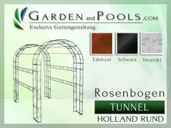 Rosenbogen Holland Tunnel Laube