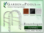 Rosenbogen Holland Rund Tunnel Laube