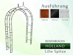 Rosenbogen HOLLAND Lilie Spitze