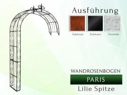 Wandrosenbogen PARIS Lilie-Spitze