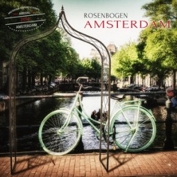 Rosenbogen Amsterdam verfügbar in verzinkt, schwarz oder rost, metall konstruktion