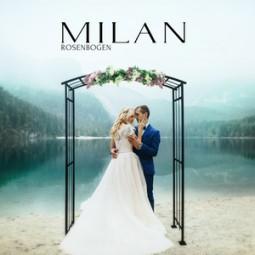 Rosenbogen Milan aus eisen schwere und stabil kontruktion