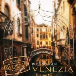 Rosenbogen metall Venezia, stabile konstruktion, viele varianten
