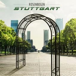 Rosenbogen metall Stuttgart, wir bieten es auch in verzinkter Farbe an