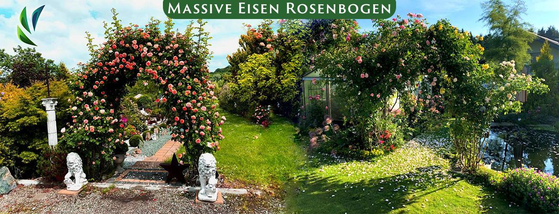 Rosenbogen Eisen, Metall Massiv Rosenbogen, Rosenbogen Verzinkt